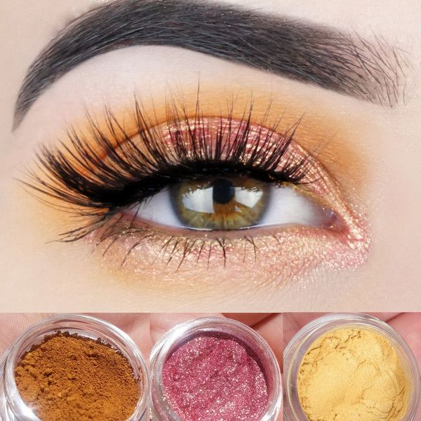 New Mineral Eyeshadow Trio Get This Look All Natural Vegan Eyeshadow... (1,160 INR) ❤ liked on Polyvore featuring beauty products, makeup, eye makeup, eyeshadow, eyes, bath & beauty, grey, paraben free eyeshadow, hypoallergenic eye makeup and mineral eye makeup