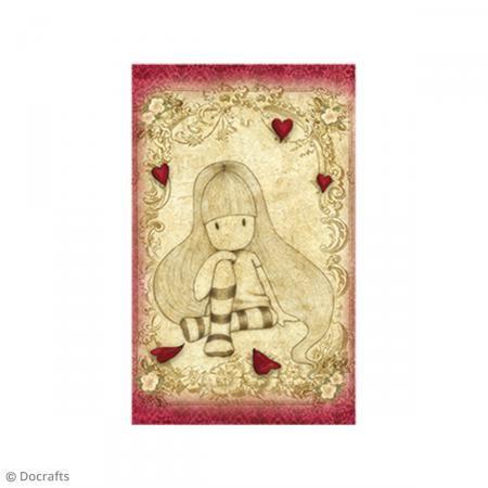 Mini sello cling Gorjuss - N°21 - The Collector - Fotografía n°2
