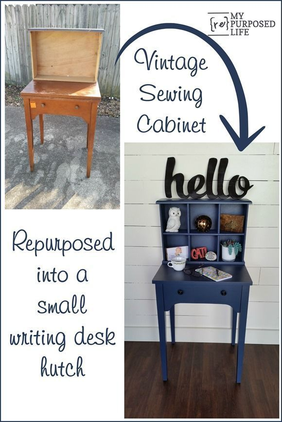 Best 25+ Repurposed Desk Ideas On Pinterest | Wine And Coffee Bar, Chalk  Paint Desk And Upcycled Furniture Before And After