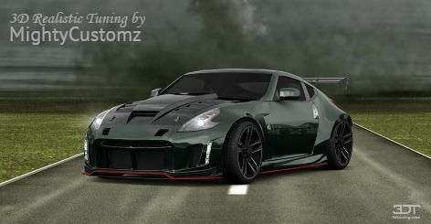 Checkout my tuning #Nissan 370Z 2015 at 3DTuning #3dtuning #tuning #nissan #370z - Mighty Customz