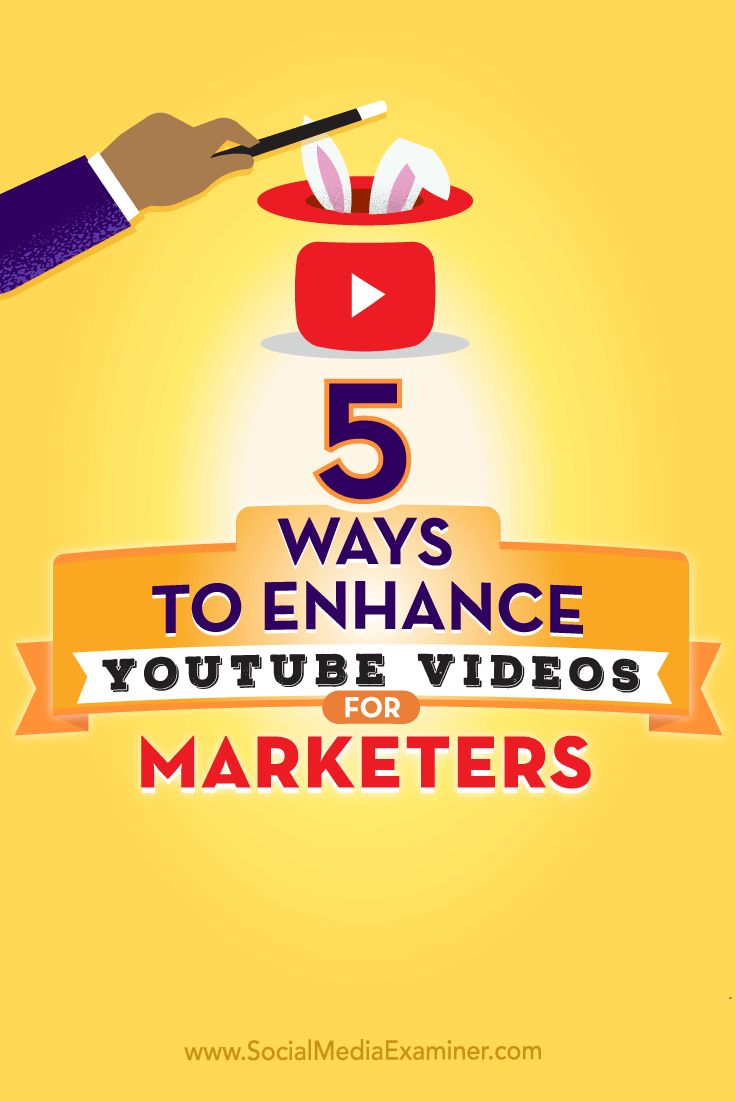 Tips on five ways to enhance the performance of your YouTube videos.
