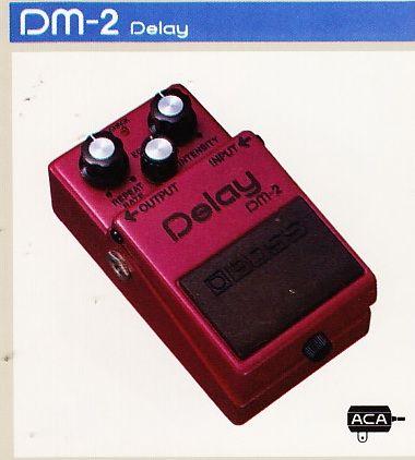 Boss DM-2 Analog Delay pedal