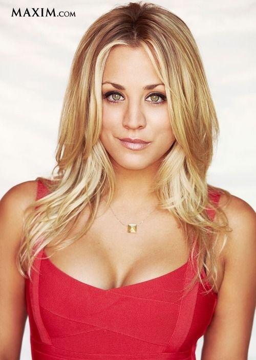 Kaley Cuoco's hair I love it maybe this should be my next hair style