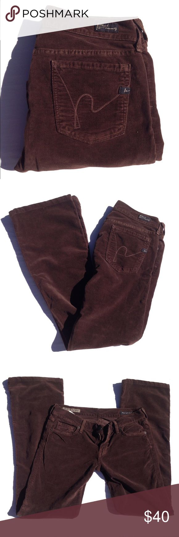 🆕CITIZENS OF HUMANITY velvet jeans Sooo soft, velvet, flattering, bootcut. You will live in these. Inseam appx 30, rise appx 7. Thank you for visiting my closet. Please feel free to ask me any questions. I am here to help you. :) Bundle to save. Citizens of Humanity Jeans