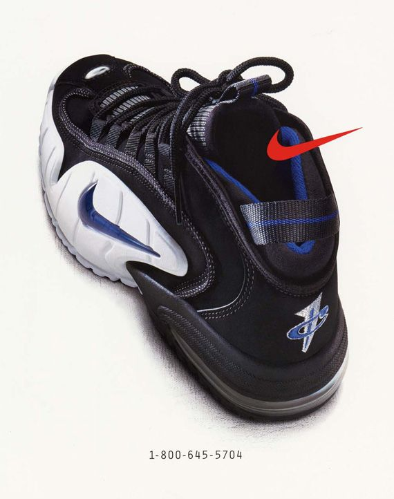 20 Years Of Nike Basketball Design: Air Max Penny (1995)