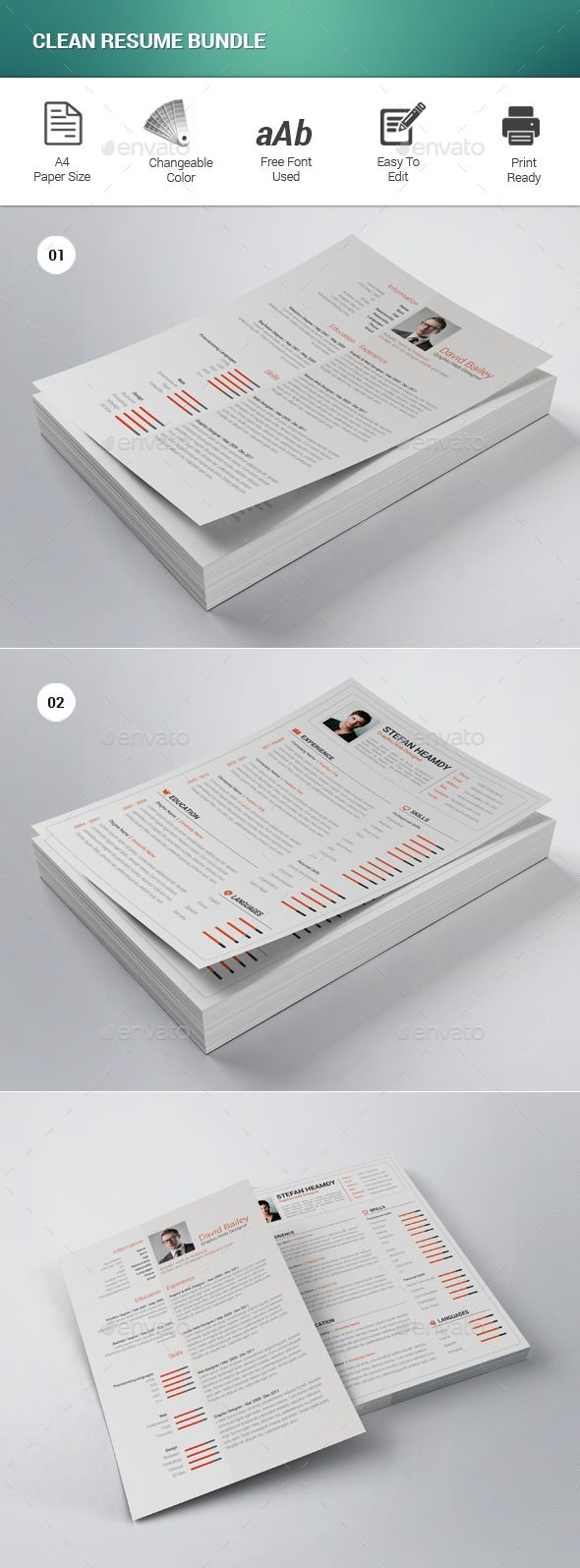 988 best Creative Resume Template images on Pinterest | Font logo ...