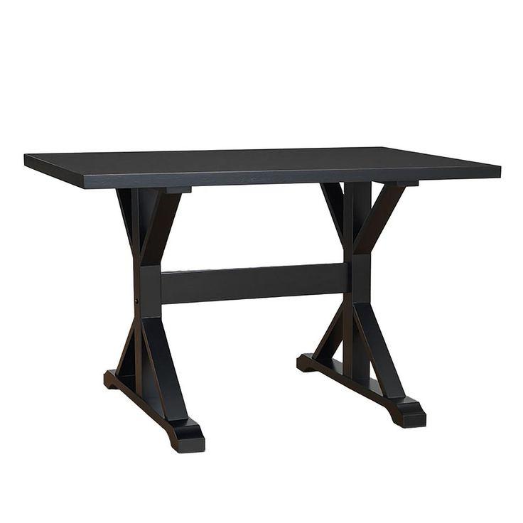 The 25 Best Trestle Desk Ideas On Pinterest Natural Study Desks. Madison  large trestle desk. Madison Large Trestle Desk Antique Black ... - Madison Large Trestle Desk Antique Black Antique Furniture