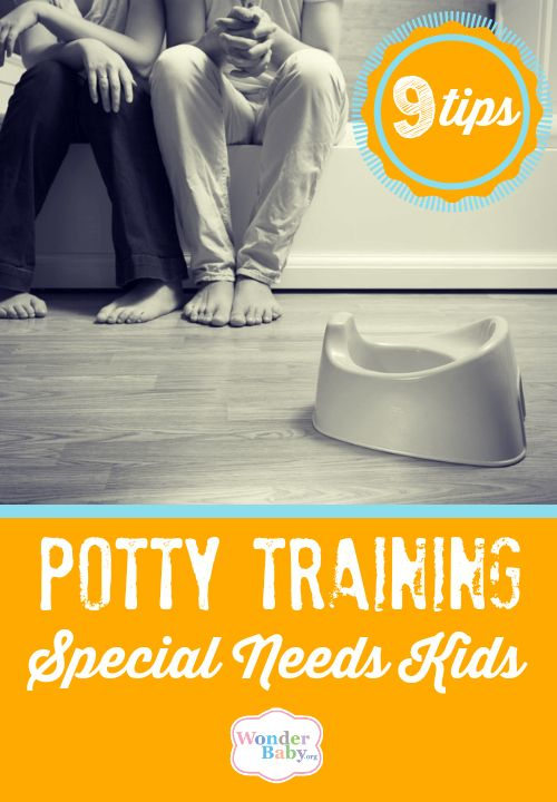 Potty training a child is difficult under any circumstances, but when your child has special needs you will need to take their abilities and delays into consideration before you can begin potty training. This may at first seem like a daunting task and I'm sure you're starting to worry that your child will never move out of diapers, but if you take your time and prepare your child you can achieve potty training success!