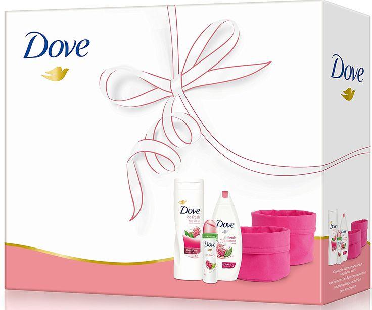 Dove Women Geschenkpack: Duschgel, Bodylotion, Deospray und Körbchenset: Amazon.de: Beauty