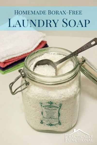 Ditch the chemicals and DIY your own detergent.