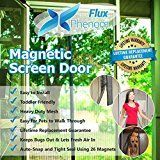 #4: Flux Phenom Reinforced Magnetic Screen Door Fits Door Up To 38 x 82-Inch