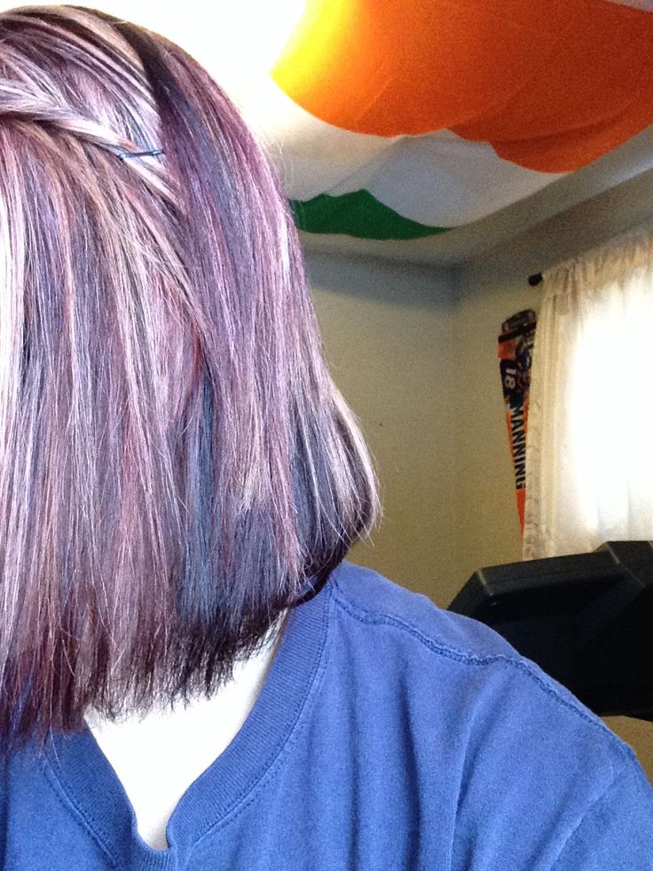 Cranberry Red Lowlights With Blonde Highlights Dark Brown