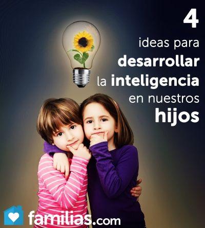 Este artículo ofrece una variedad de ideas sobre cómo los padres pueden promover la inteligencia de los hijos haciendo buen uso de las habilidades ind...