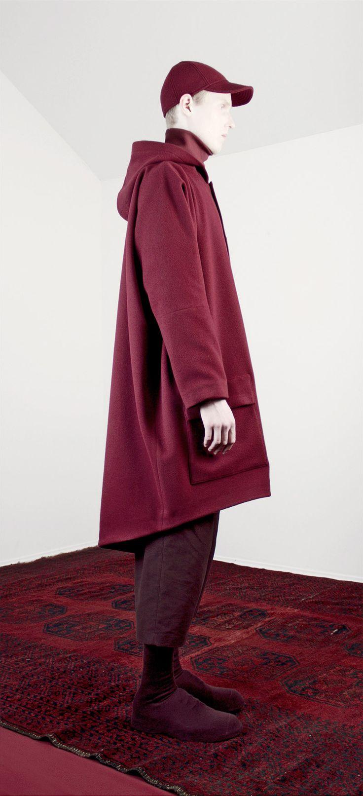 Lucio Vanotti Fall/Winter 2014/ Collection - purple coat- guyafirenze.com