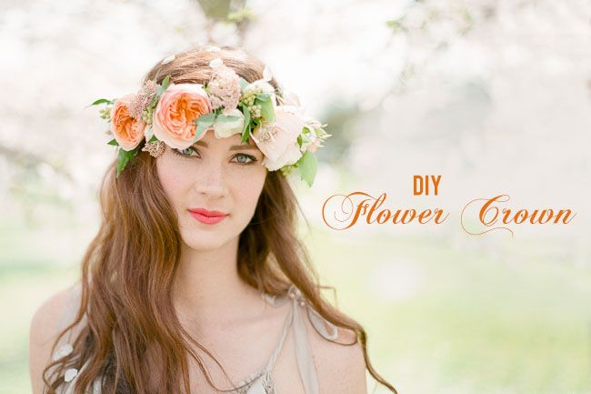 Snippets, Whispers & Ribbons #68 DIY Flower Crown on Green Wedding Shoes