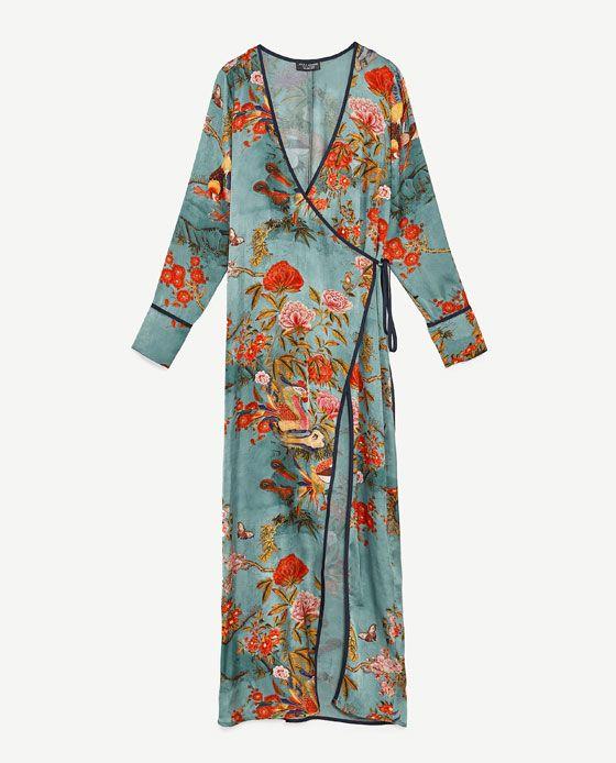 Wonderfull KIMONO DRESS from Zara just arrived to me!!
