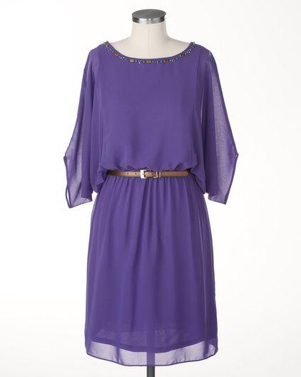 Chiffon jewels dress