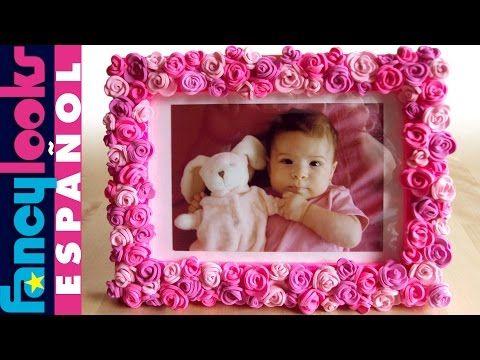 Marco de rosas de goma Eva - YouTube