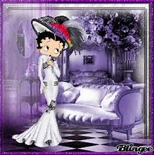 Image result for Betty Boop purple