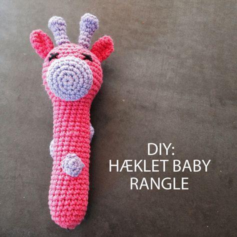 Forleden faldt jeg over en opskrift til den sødeste babyrangle på bloggen migogmaya , der bestemt er et besøg værd.Jeg fattede s...