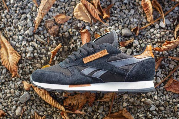 reebok classic leather utility navy
