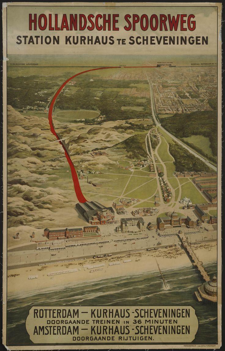 Hollandsche Spoorweg Station Kurhaus te Scheveningen Rotterdam-Kurhaus-Scheveningen /…/