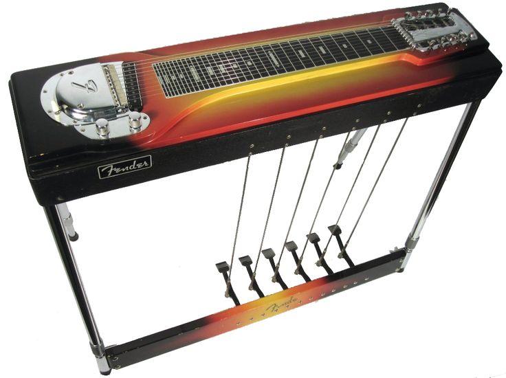 1964 Fender Model 800 Pedal Steel Guitar Vintage Lap | Pedal Steel Guitars