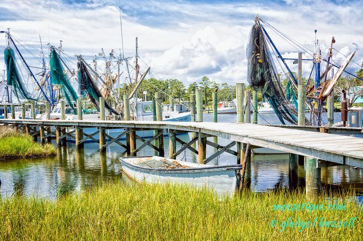 Day 185 - 365 Project - Shrimp Boats - Atlantic, NC