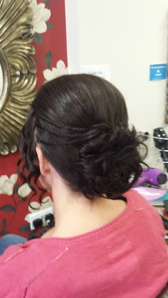 Upstyle with plaits, Gorgeous!