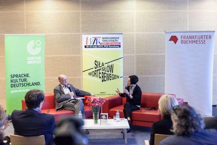 Spotkanie z Herta Mueller podczas Warszawskich Targów Książki
