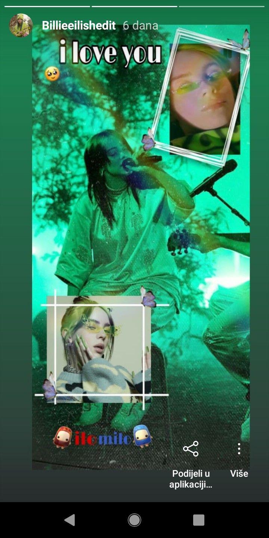 My Edit From Instagram Billie Billieeilis Edits Billedit In 2020 Movie Posters Billie Eilish Billie