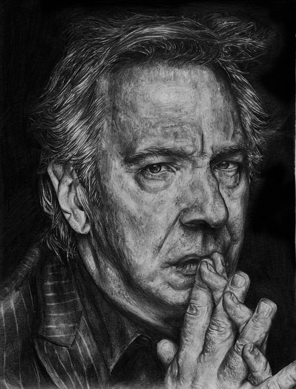 Alan Rickman by Carina Klinkhammer