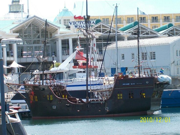 Fun trip on a pirate ship @ the V&A waterfront Cape Town