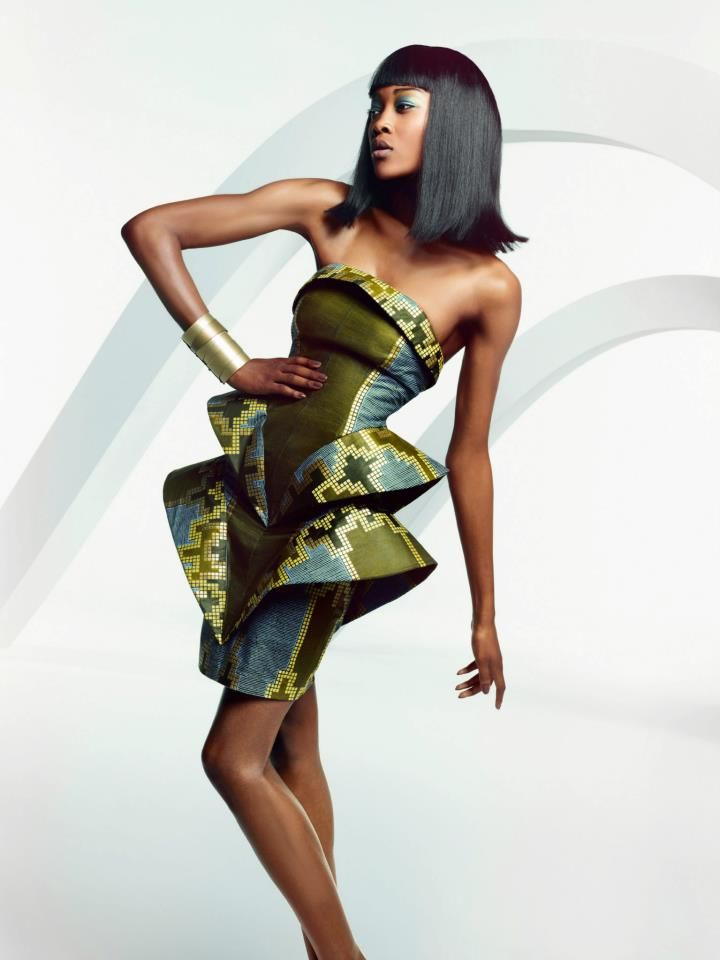 African fashion look