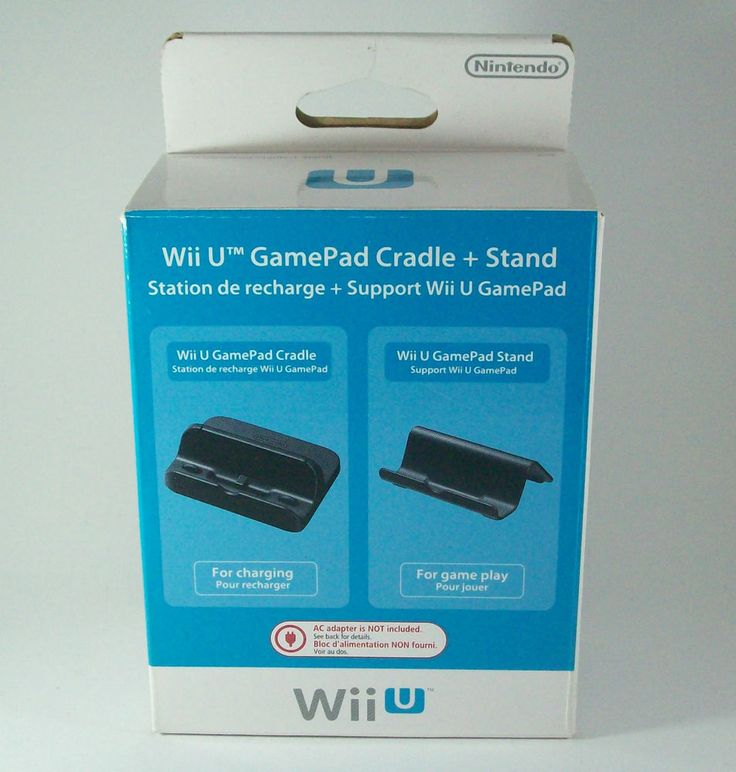 #Nintendo #Wii #U #Game #Pad #Cradle #+ #Stand #Ladestation + #Aufsteller