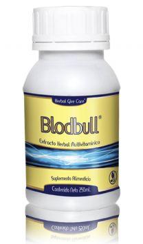 Bloodbull  Extract Es un tónico útil en el nerviosismo, cansancio excesivo, falta de sueño. Dolor de cadera, espalda, cintura, brazos y piernas. Inflamación del hígado y riñones, mareos, vista cansada o empañada. Por la falta de vitaminas. Ingredientes: Alfalfa (Medicago sativa), Alga Espirulina (Spirulina máxima), Arándano (Vaccínium myrtillus), Calcio de Coral, Cola de Caballo (Equisetum arvense L.), Diente de León www.hgcherbalusa.com