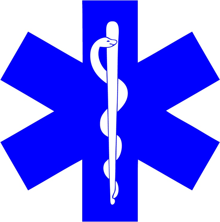 The Star Of Life    EMS - Emergency Medical Services.