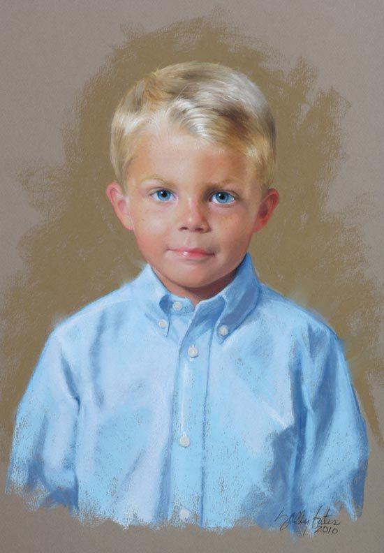Sally Gates - Portrait Artist...Gorgeous Work