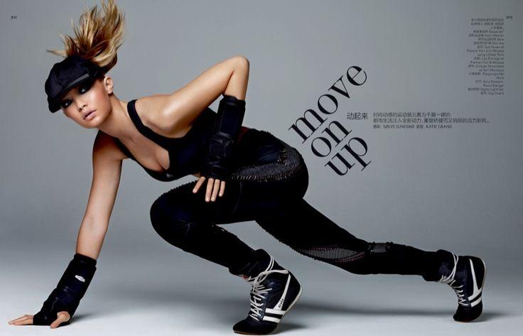 Gigi Hadid stars in Vogue China Magazine March 2016 issue