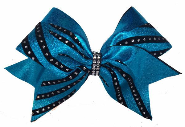 Cheer Bows Etc | Cheerleading Bows - Turquoise Sparkle Swish Bow , $17.50 (http://www.cheerbowsetc.com/products/turquoise-sparkle-swish-bow.html)