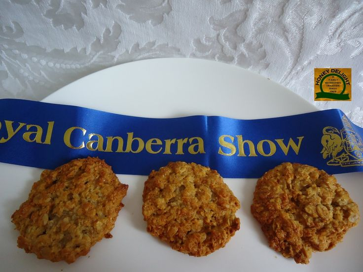Blue Ribbon Anzac Biscuits • recipe by Carmen - a family of apiarists Australian recipe • CWA Australia recipes