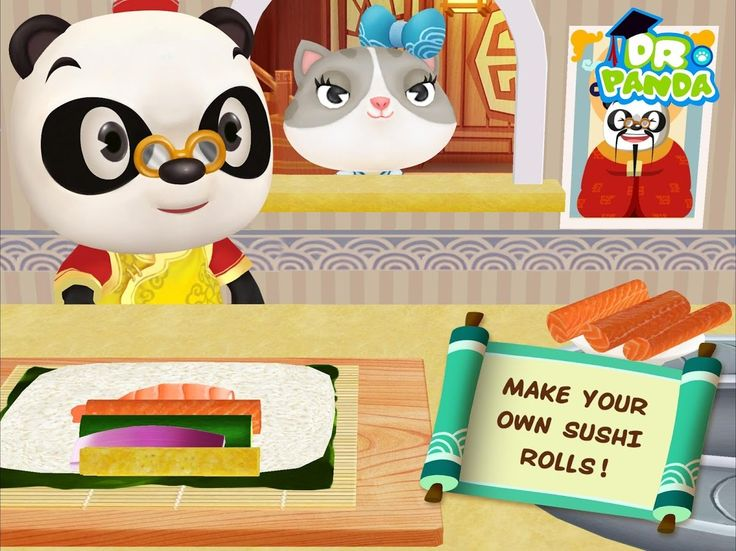 Dr Panda's learn your kids to cook ☆  Asian restaurant Dr Panda ☆  Baby ...