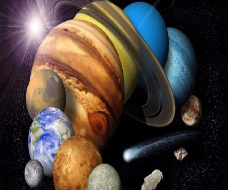 PLANETS GALAXY SPACE SOLAR SYSTEM COMPUTER MOUSE PAD  9 X 7  #UnbrandedGeneric
