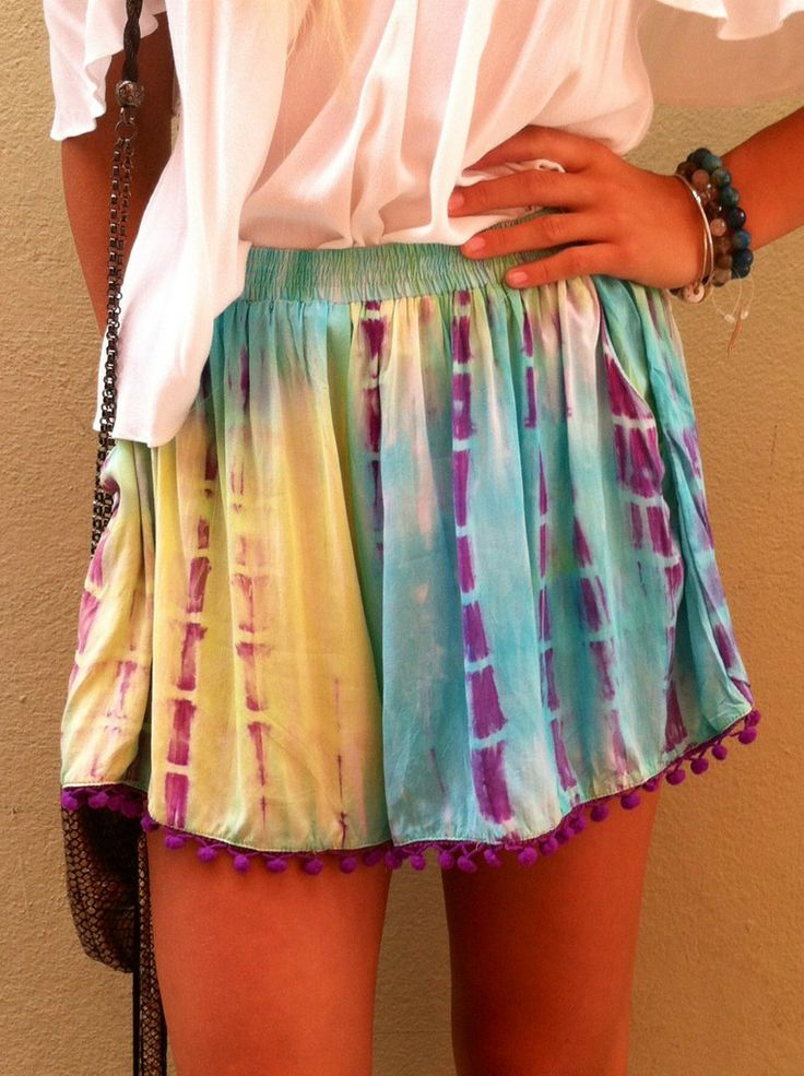 Boho Solstice Bright Shorts