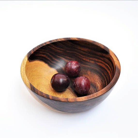 Wooden Chips bowl, wood snack bowl Hand turned, wood fruit bowl, Catchall bowl, Decor bowl, Christmas gift, Mom gift, Housewarming gift