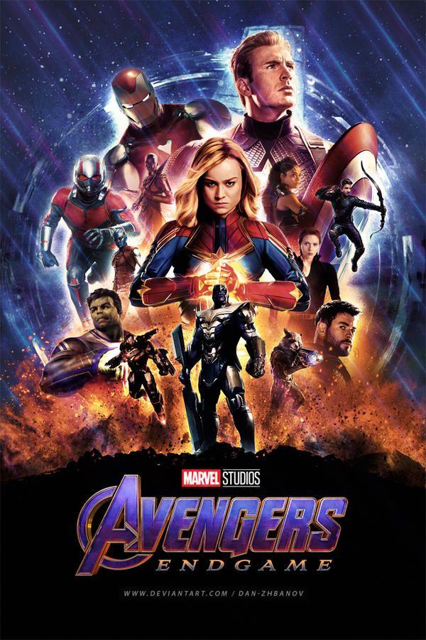 Avengers Endgame 2019 By Dan Zhbanov Avengers Marvel Superheroes Marvel Avengers