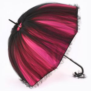 Tulle Froncé Umbrella by Chantal Thomass