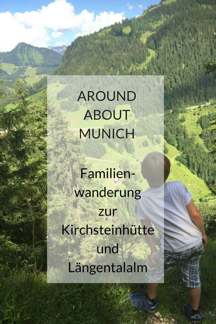 Nur rund 60 km von München Mitte liegt Arzbach bei Lenggries und das traumhaft schöne Längental von München entfernt. Nicht nur im Winter kann man dort schön wandern, auch zu den anderen Jahreszeiten bietet das Längental eine einzigartige Bergkulisse. Man kann die Familien-Wanderung zur Kirchsteinhütte und Längentalalm mit Kindern ab 4 Jahren oder mit Kinderwagen/Kraxe machen. #familienwanderung #kirchsteinhütte #längentalalm
