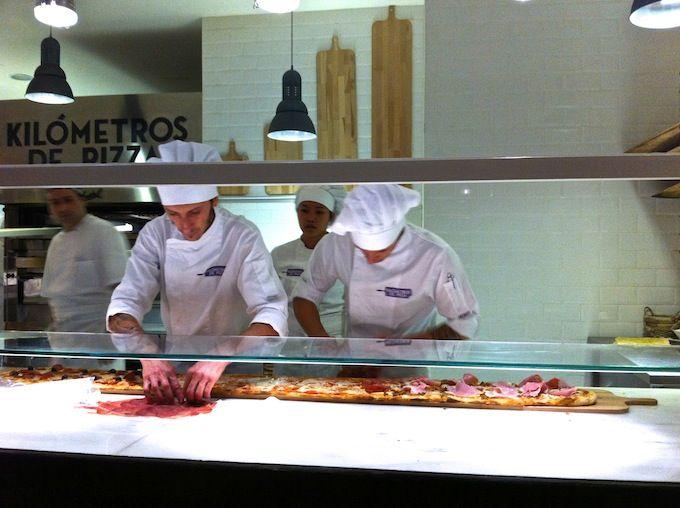 Una selección de restaurantes para comer con niños en Madrid.