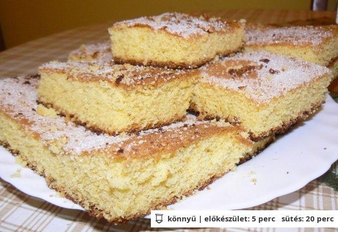 Kukoricamálé sütemény